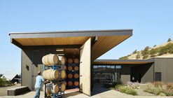 Arquitectura Vitivinícola: Salas de máquinas, bodegas, centros de degustación y salas de venta