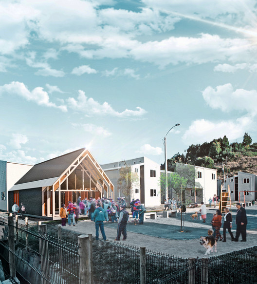 PARALELA projetará o protótipo para 50 novas capelas no Chile, Cortesía de PARALELA
