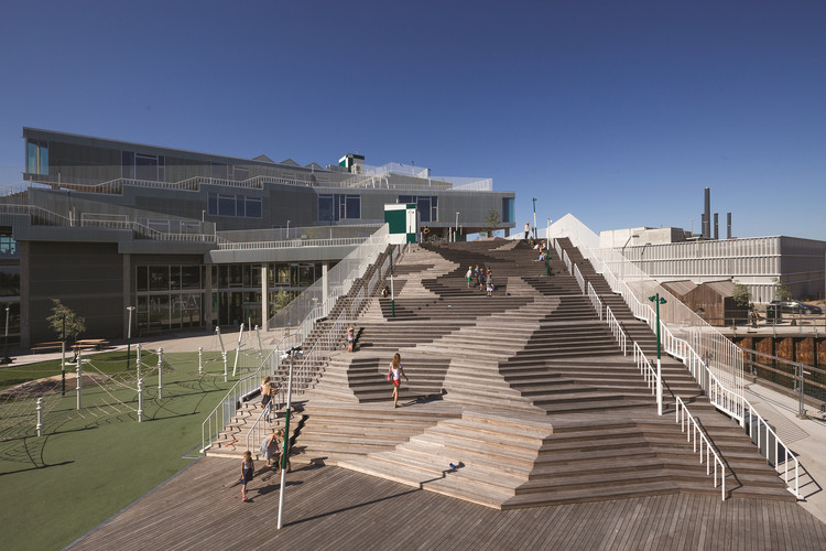 Escola South Harbor / JJW Arkitekter, © Torben Eskerod