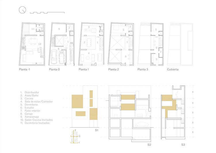 Guarnn house fresneda zamora arquitectura archdaily drawings malvernweather Image collections