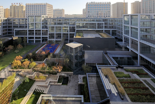 Beijing Patent Center / China Architecture Design & Research Group