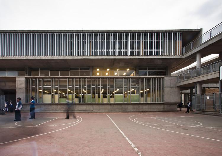 Colégio Distrital Porfirio Barba Jacob / Leonardo Álvarez Yepes arquitectos, © Rodrigo Dávila