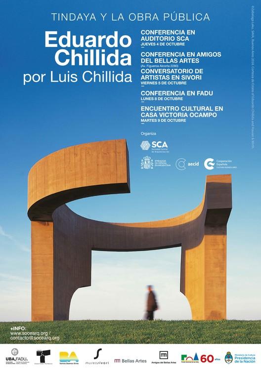 Conferencias: Tindaya y la Obra Pública, Eduardo Chillida por Luis Chillida, Cortesía de Sociedad Central de Arquitectos