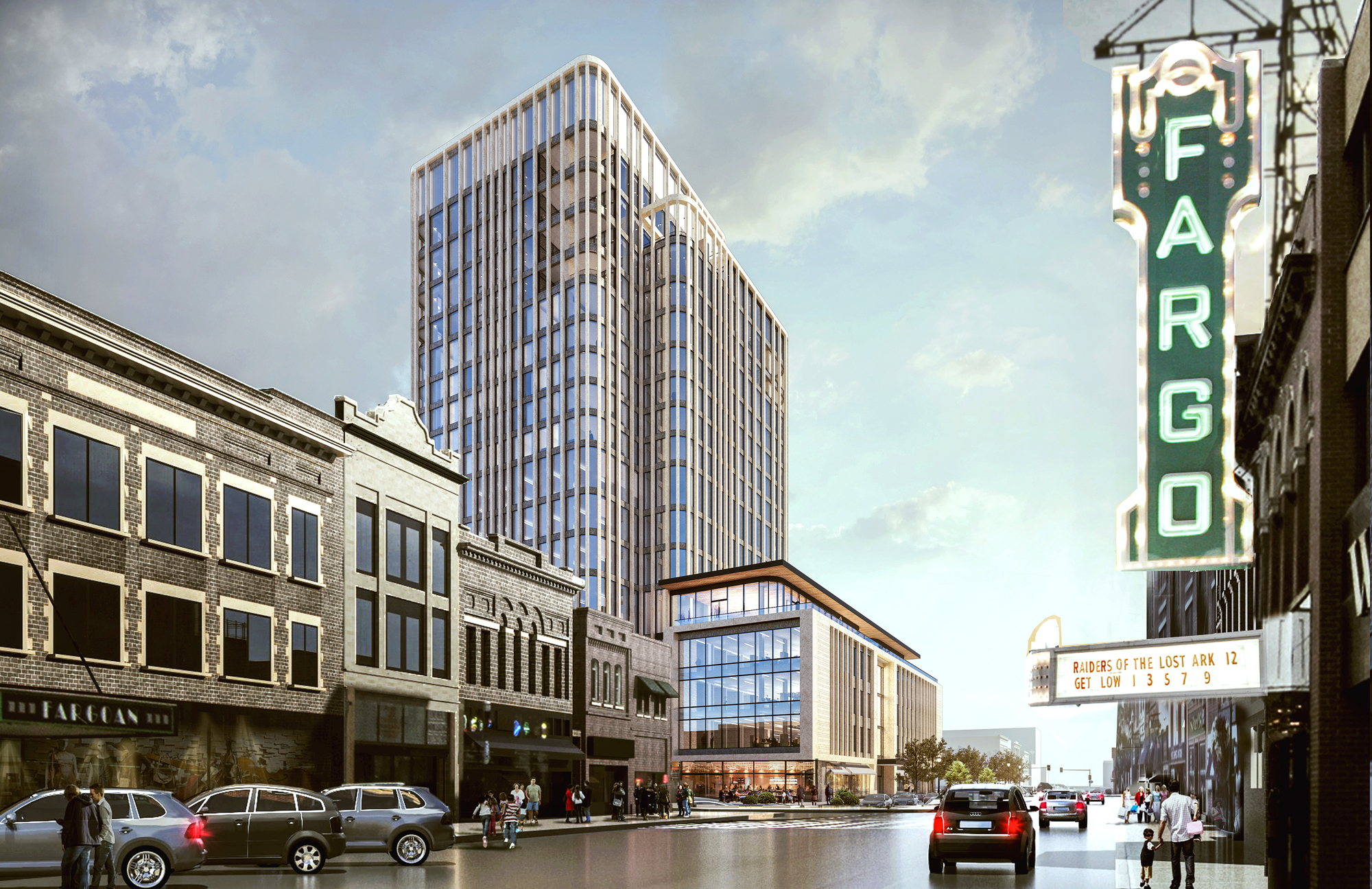 som breaks ground on block 9 in downtown fargo