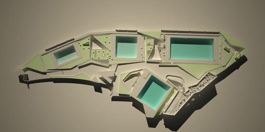 © Paisajes Emergentes. ImageComplejo acuático para los IX Juegos Suramericanos / Paisajes Emergentes