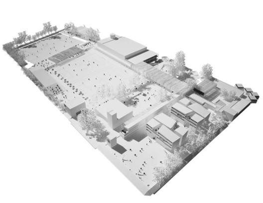 © MGP Arquitectura y Urbanismo. ImageGimnasio Campestre / MGP Arquitectura y Urbanismo