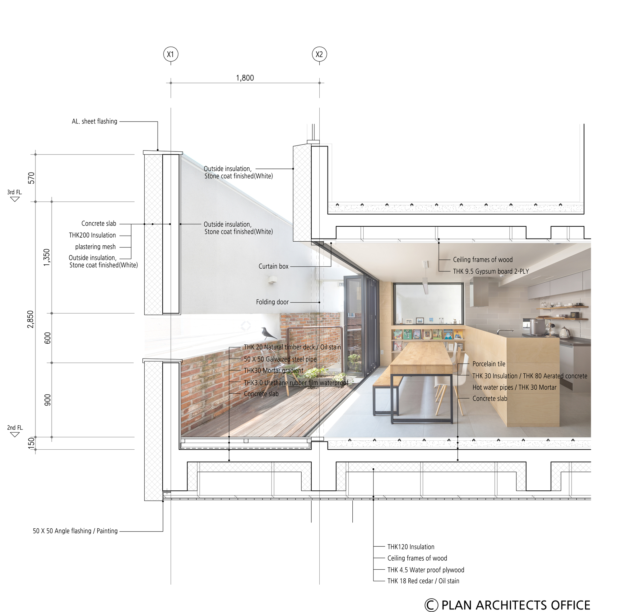 Kitchen Details: Gallery Of White Nest Housing / Plan Architects Office