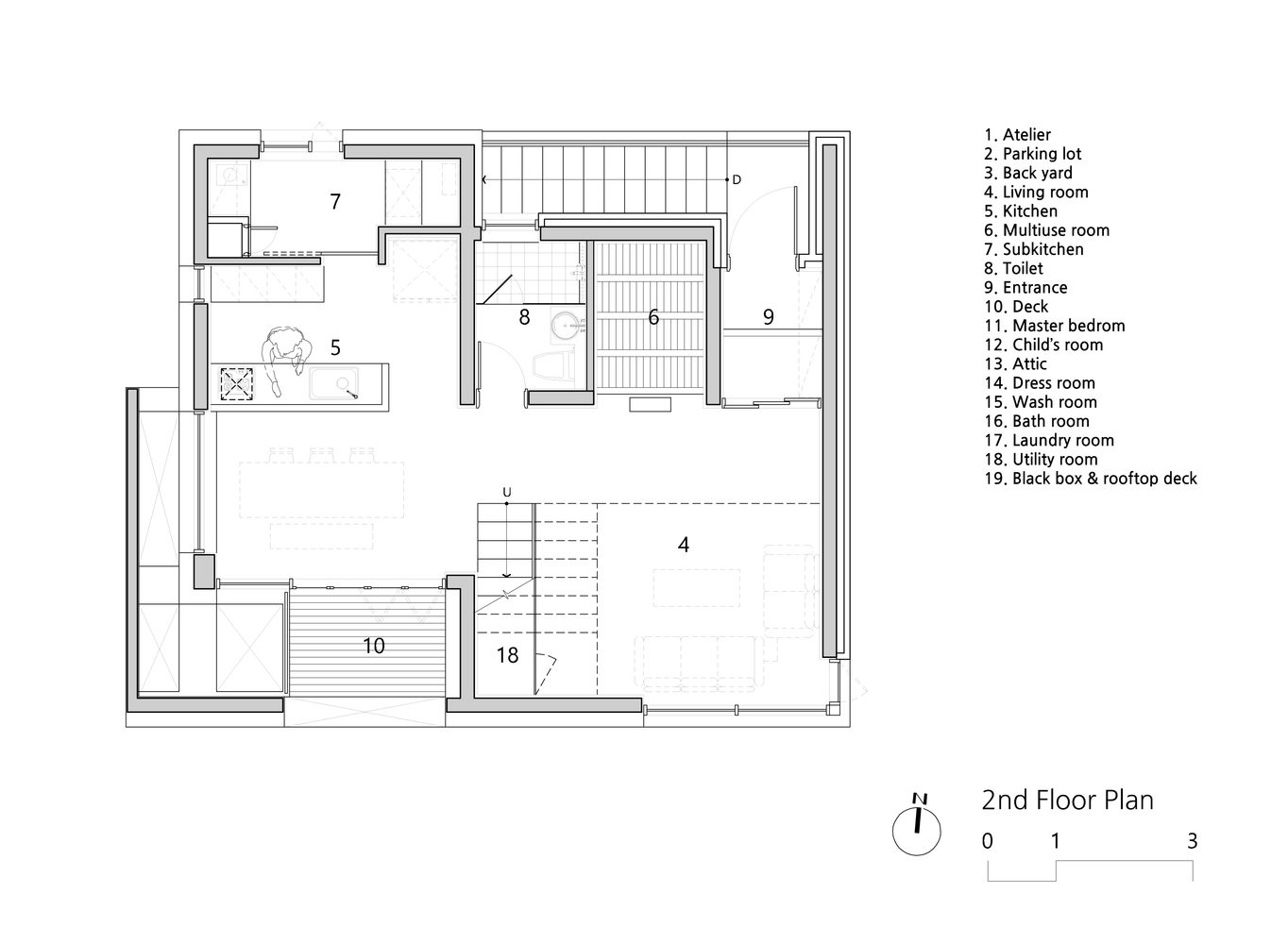 Gallery Of White Nest Housing Plan Architects Office 22