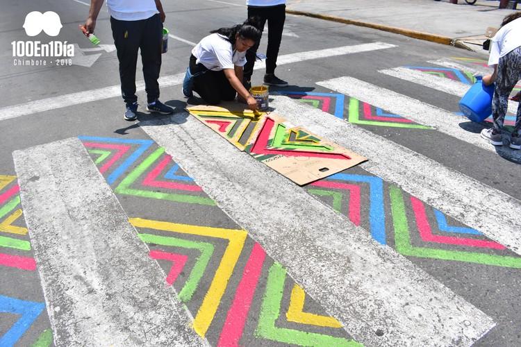'100 en 1 día Chimbote': el norte peruano se activa con más de 100 intervenciones urbanas en simultáneo, 01. Image Cortesía de 100en1díaChimbote