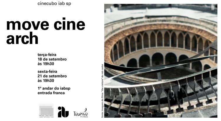 """CineCubo IAB: MOVE CINE ARCH, Imagem do filme """"The Visitors"""" de Rob Carter."""