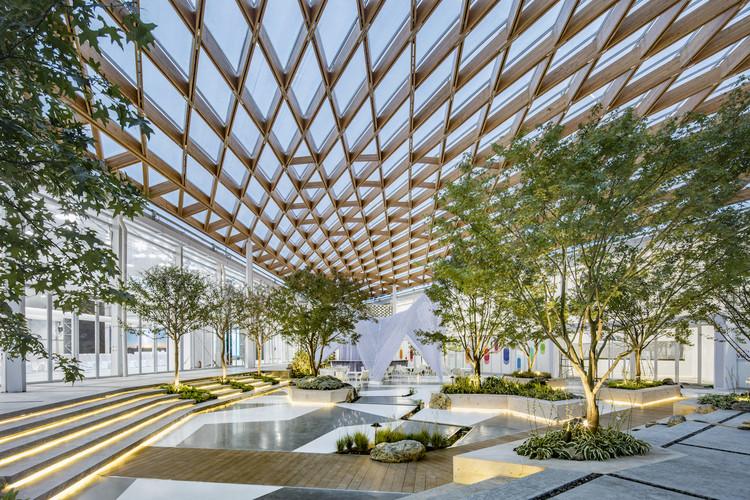 Venue B of Shanghai Westbund World Artificial Intelligence Conference / Archi-Union Architecture, B Pavillion. Image © Fangfang Tian