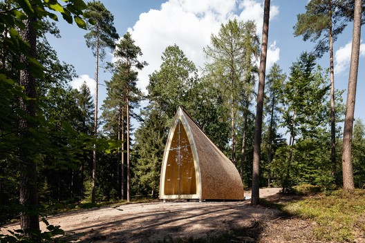 Chapel Ruhewald Schloss Tambach  / Sacher.Locicero.Architects + Graz / Paris + Gerhard Sacher