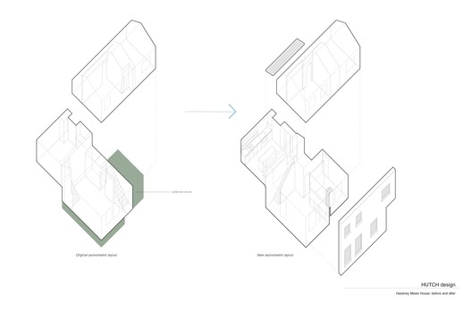 Axonometric / Before +After