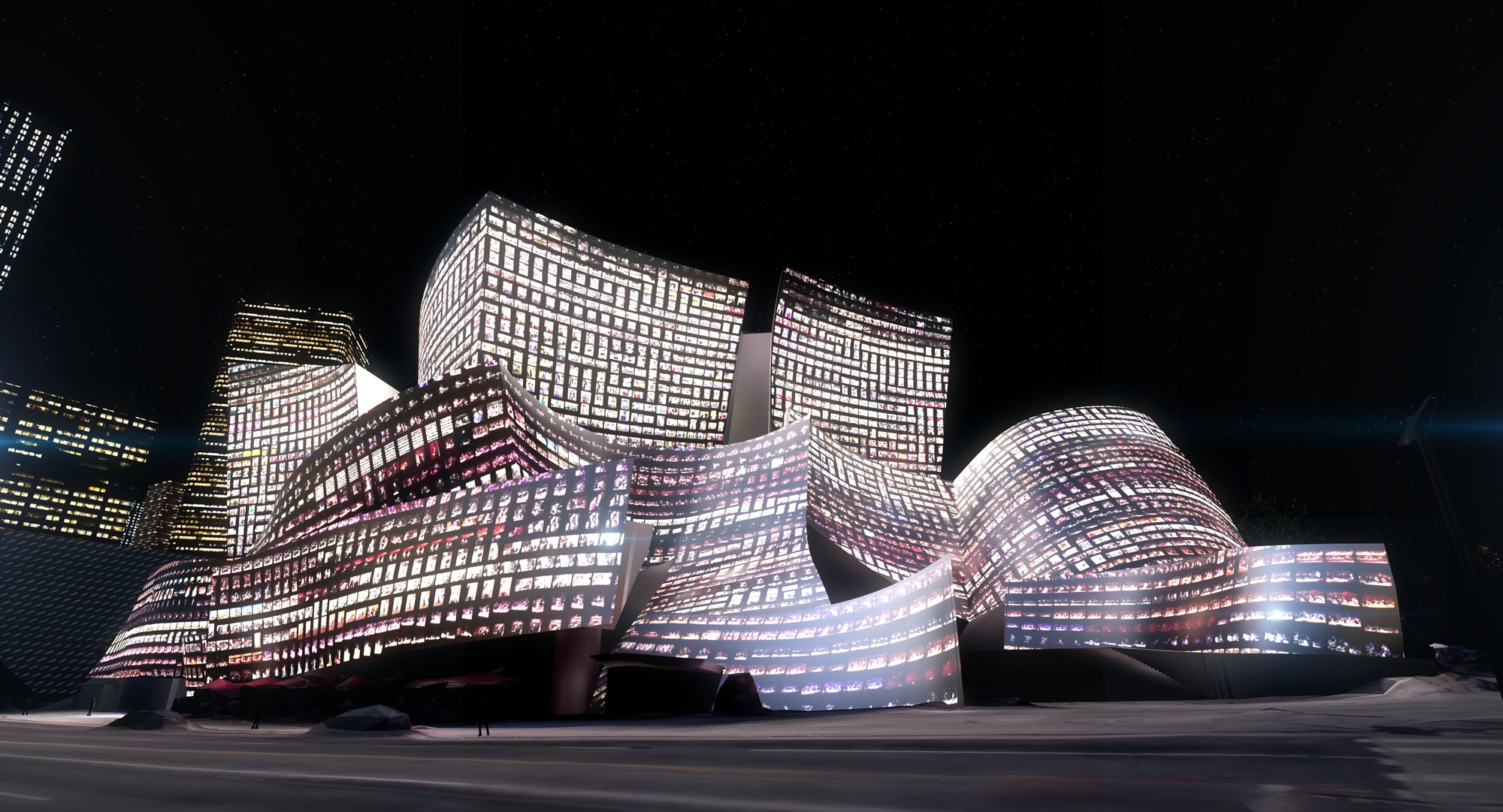 L.A.'s Walt Disney Concert Hall Will Be Lit by Algorithms in Dream-Like Light Show