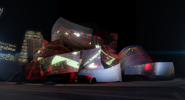 L A 's Walt Disney Concert Hall Will Be Lit by Algorithms in