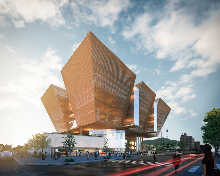 Espaço Caleidoscópio: Gesto Arquitetura recebe menção honrosa em concurso na Coreia do Sul, Cortesia de Gesto Arquitetura
