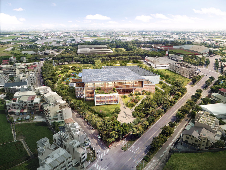 Taiwan National Library. Image Courtesy of BAF and Carlo Ratti