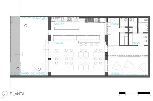 Bares Y Restaurantes 50 Ejemplos En Planta Y Seccion Plataforma Arquitectura