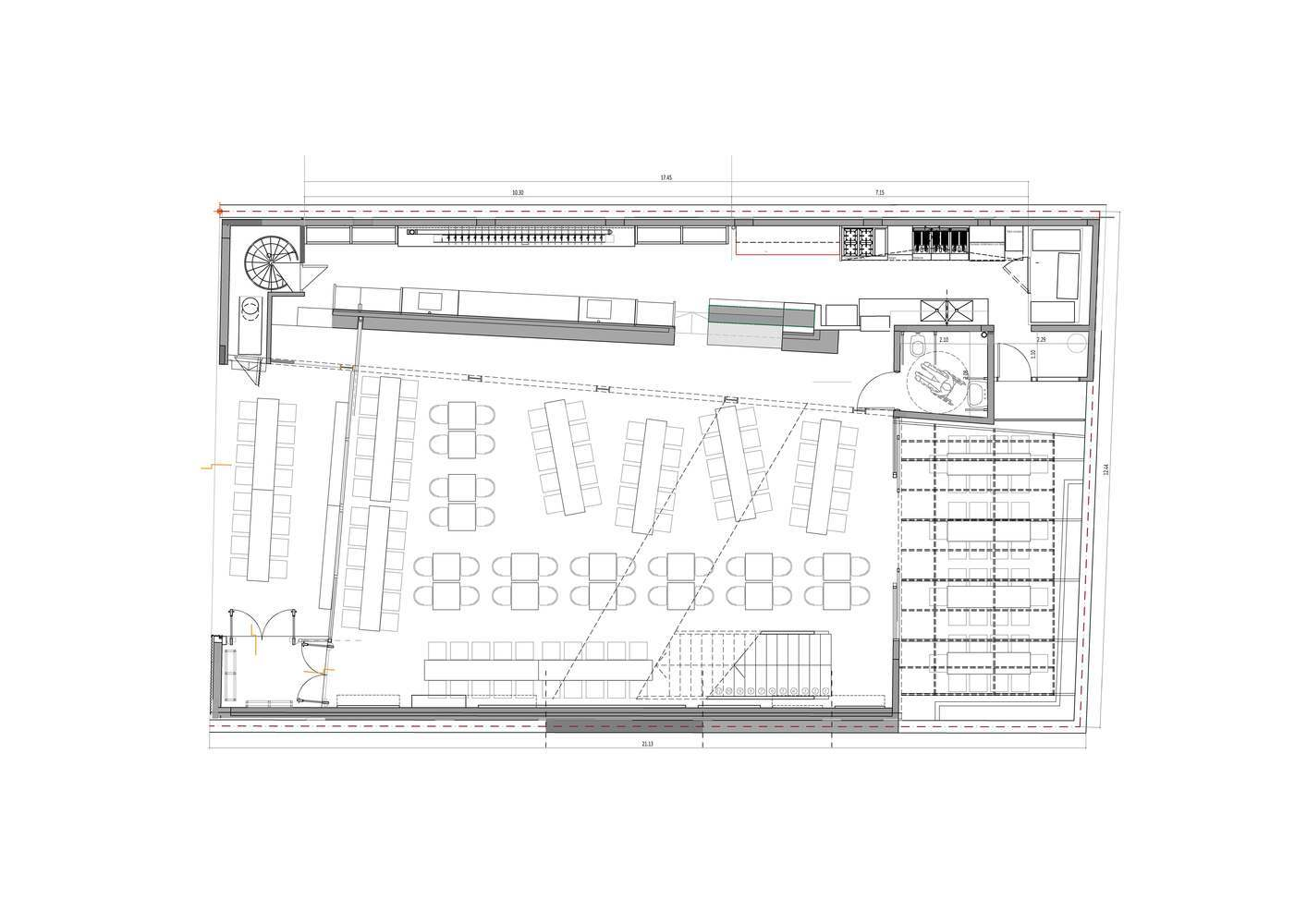 Gallery Of Bars And Restaurants 50 Examples In Plan And Section 9
