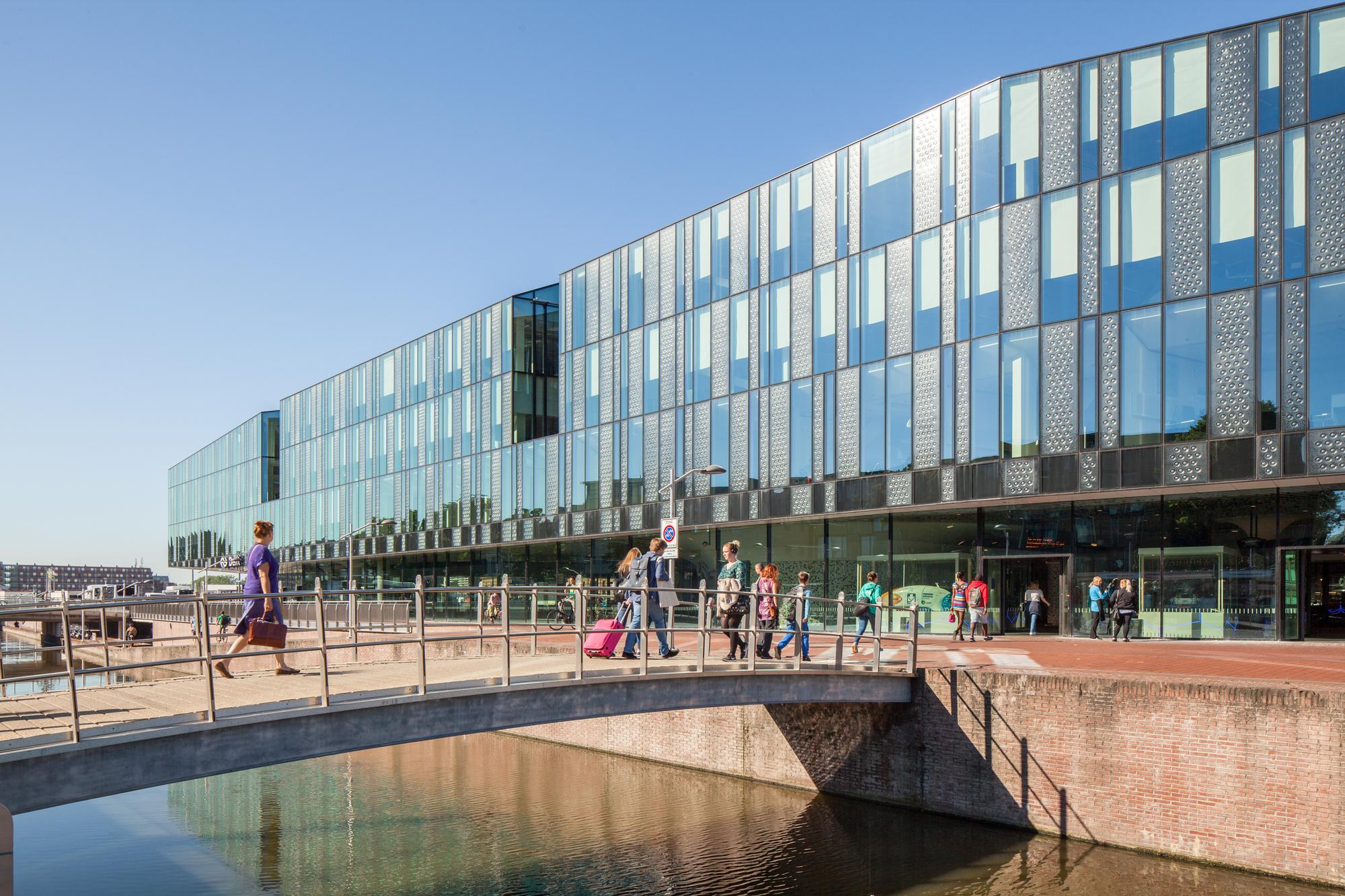 Delft City Hall and Train Station / Mecanoo