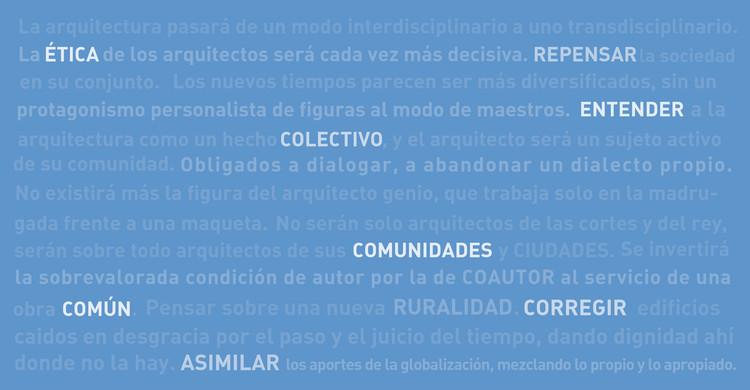 Reflexiones sobre el futuro de la arquitectura en Chile: ¿Cuál será el rol de los arquitectos/as en los próximos 25 años?, Cortesía de Fabián Dejtiar
