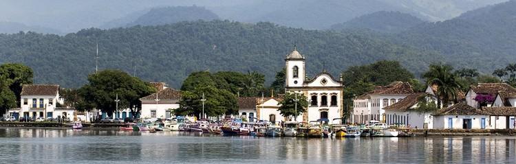 Paraty avança mais um passo para se tornar Patrimônio Mundial da Unesco , Igreja de Santa Rita em Paraty, RJ. Image © Oscar Liberal