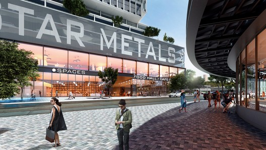 Street view of Star Metals Offices and Residences. Image © Taller De Escalas