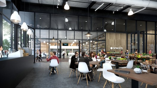 Retail interior view of Star Metals Offices. Image © Taller De Escalas