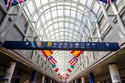 Chicago O'Hare International Airport. Image © Creative Commons