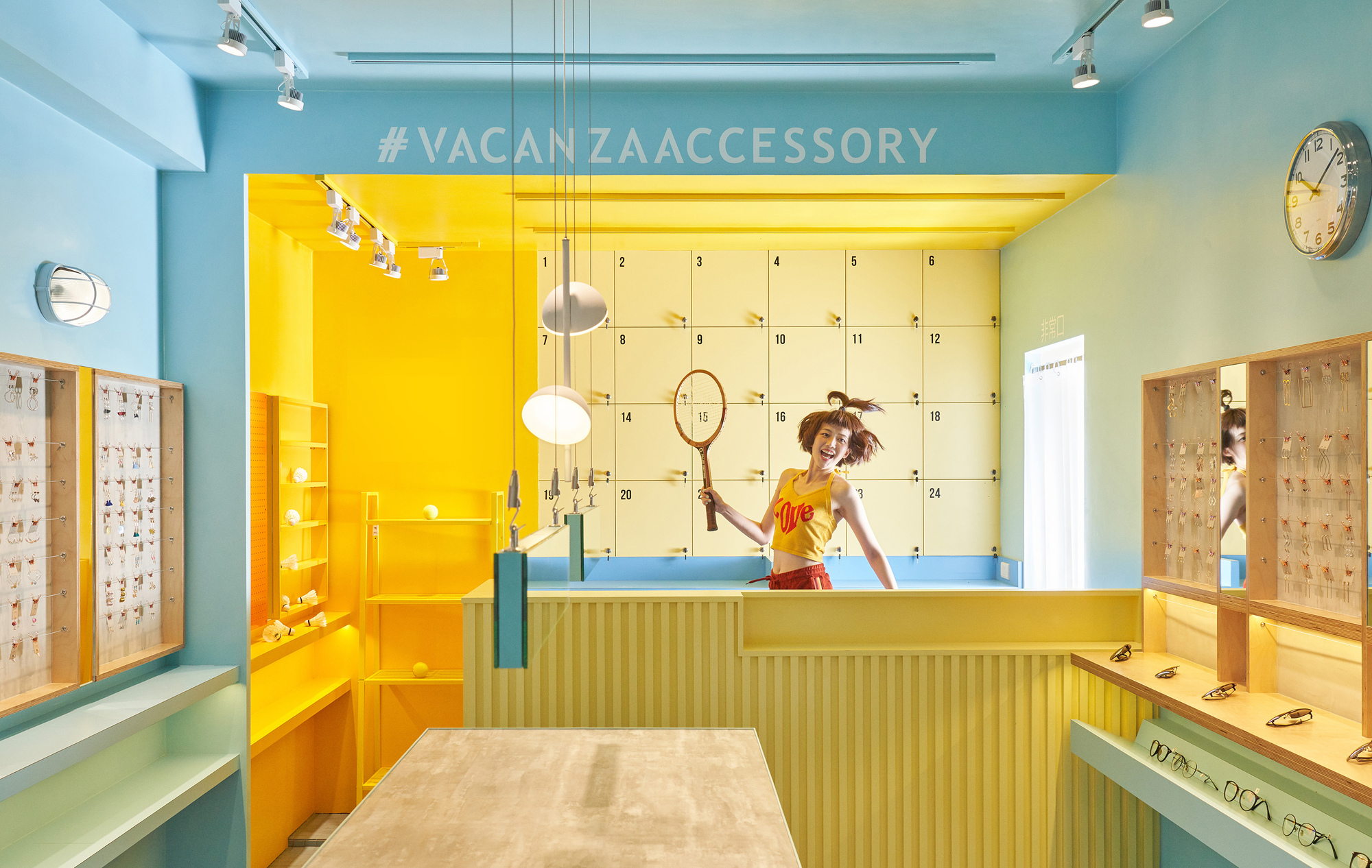 The Gym Of Accessory Store / 45tilt | ArchDaily