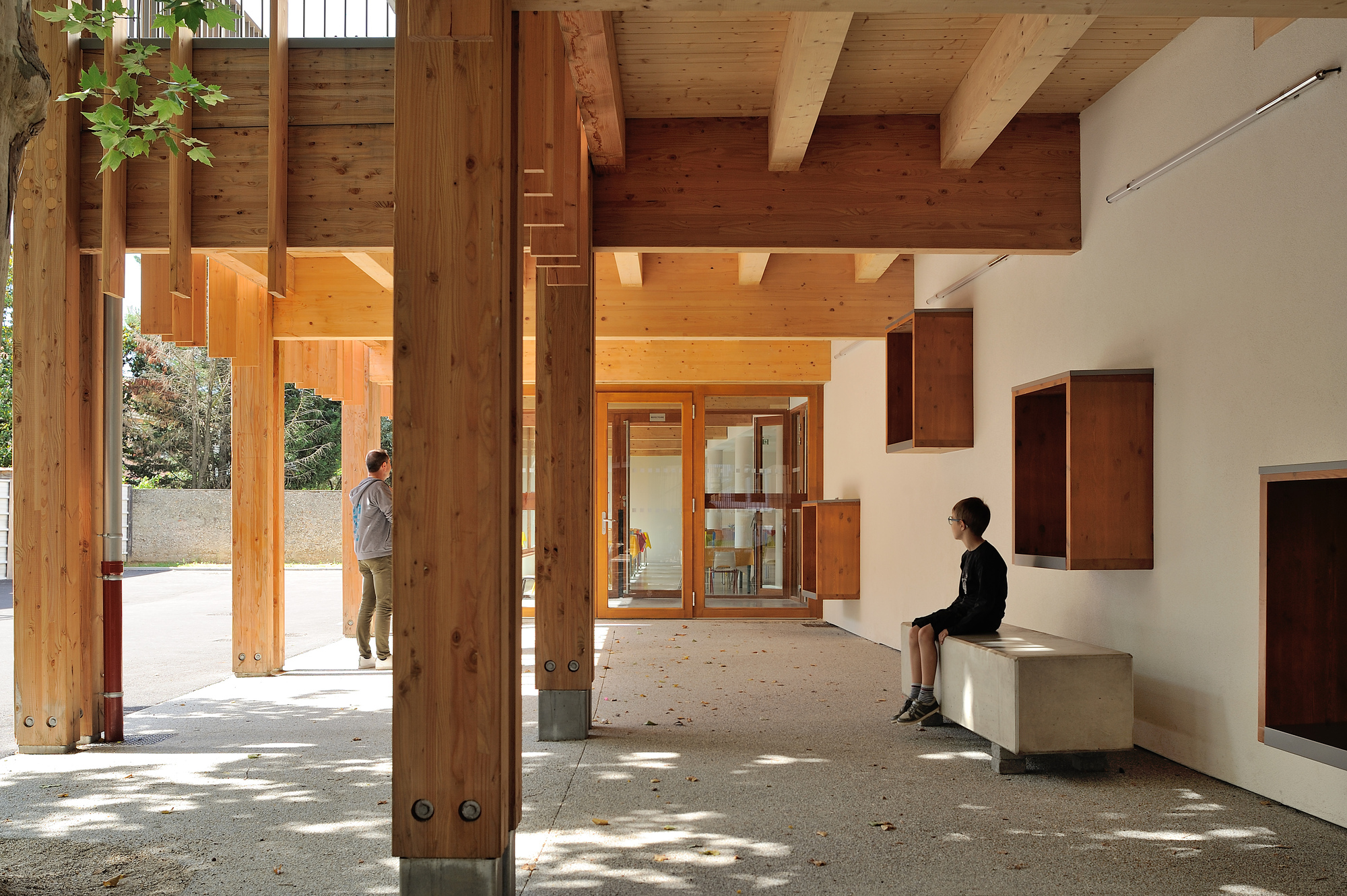 Nursery School At Roches De Condrieu
