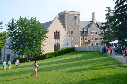 Princeton University's Whitman College. Image © Flickr User Joe Shlabotnik