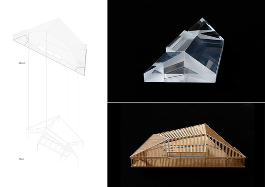 model study space and structure. Image Courtesy of NATURALBUILD Operation LLC