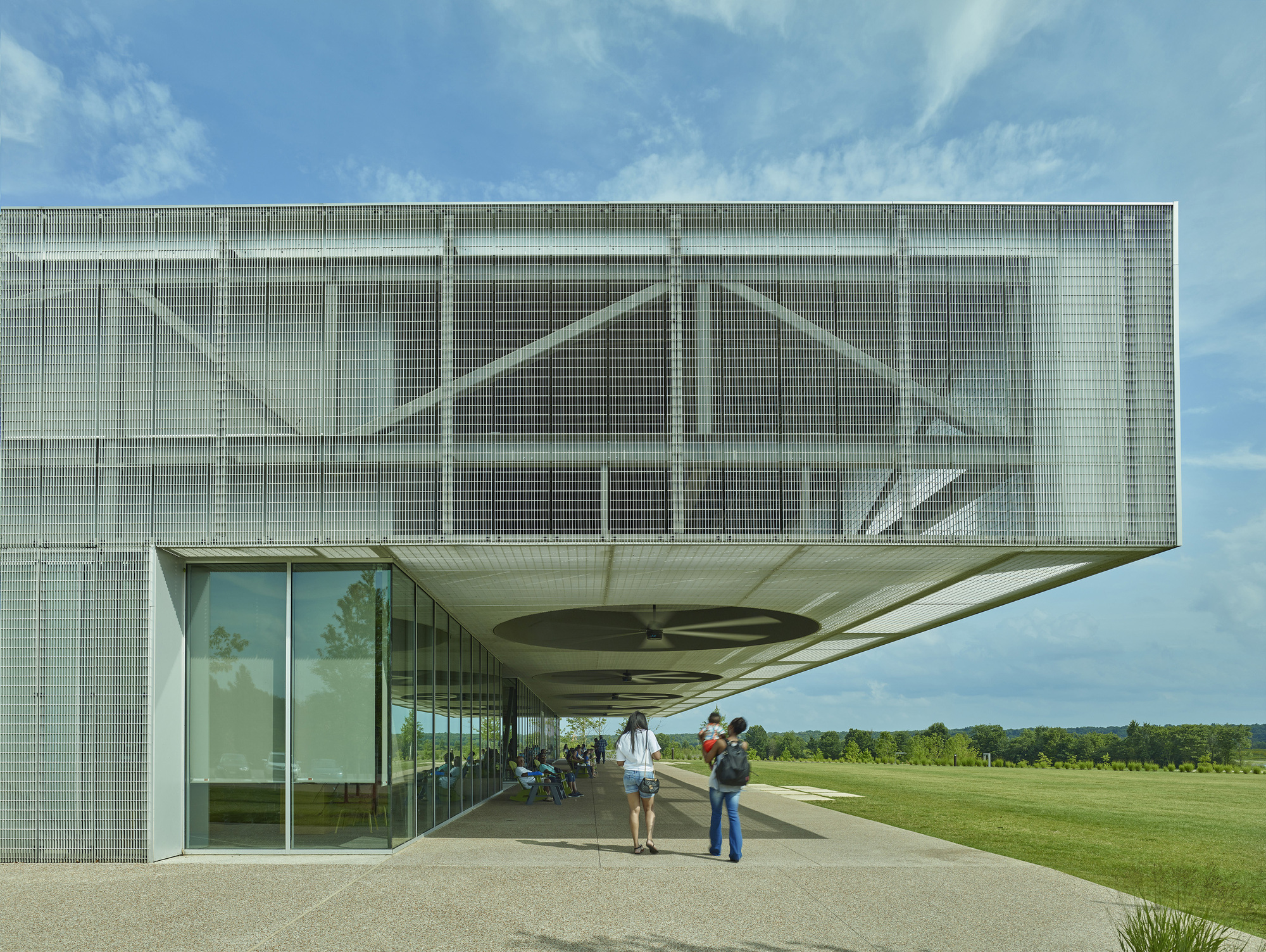 Heart of the Park Buildings at Shelby Farms Park / Marlon Blackwell Architect + James Corner Field Operations