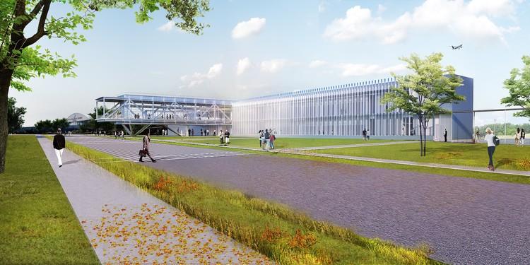 TEN Arquitectos' Research Building Celebrates NASA's 60th Anniversary , Courtesy of TEN Arquitectos