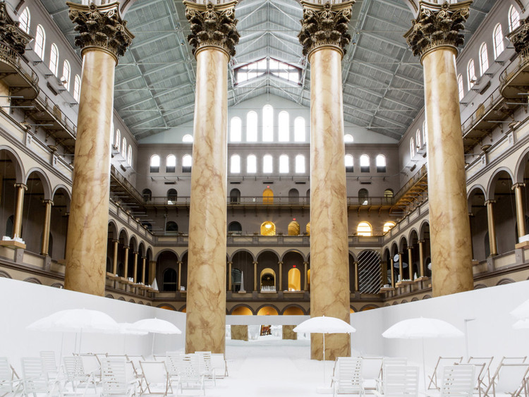National Building Museum Honors Inga Saffron and Robert Campbell with Vincent Scully Prize, National Building Museum. Image © Snarkitecture