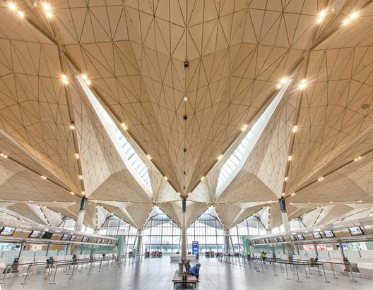 Pulkovo Airport in St Petersburg. Image © Yuri Molodkovets