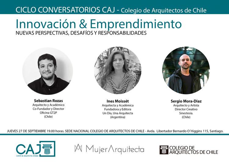 Ciclo de conversatorios CAJ: primera sesión, Comité de Arquitectos Jóvenes (CAJ)
