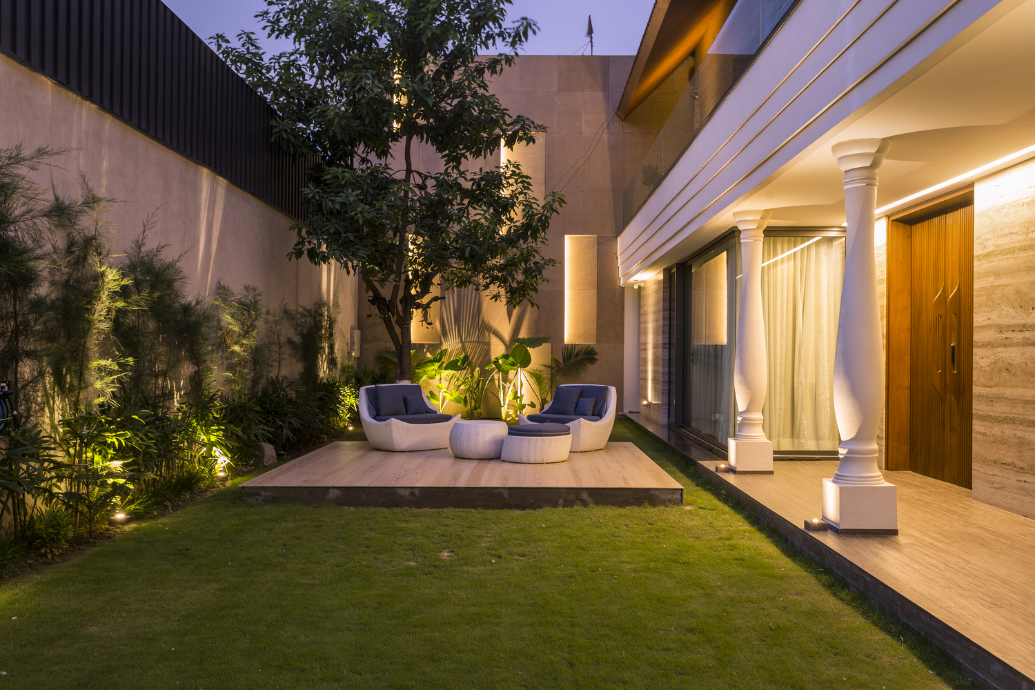 Gallery Of An Indian Modern House 23dc Architects 25