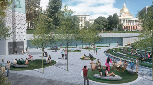The Ripple Effects. Image Courtesy of Wodiczko + Bonder, Maryann Thompson Architects and Walter Hood