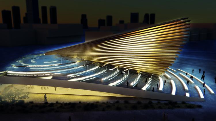 "Es Devlin to Design the UK's ""Poem Pavilion"" for Dubai Expo 2020, Courtesy of Es Devlin"