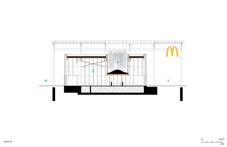 McDonald's Chicago Flagship / Ross Barney Architects