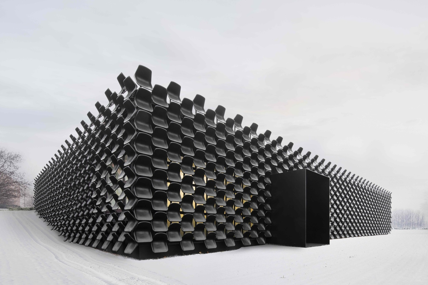 How To Make A Facade With Recycled Materials 21 Notable Examples Archdaily