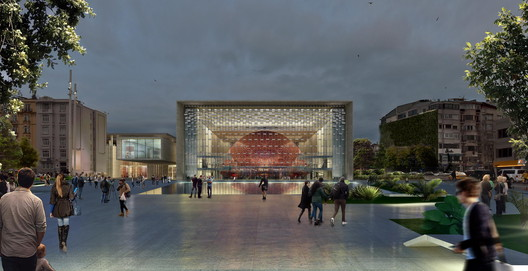 TABANLIOGLU ARCHITECTS - Ataturak Cultue Center. Image © Tabanlioglu Architects