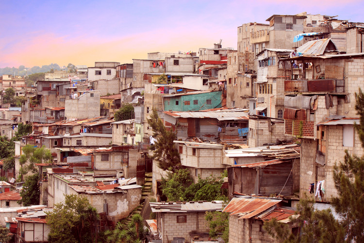 "Serious Question: Should We Call Them Slums? , Guatemala City ""favela"" type housing near downtown. Image via Shutterstock"