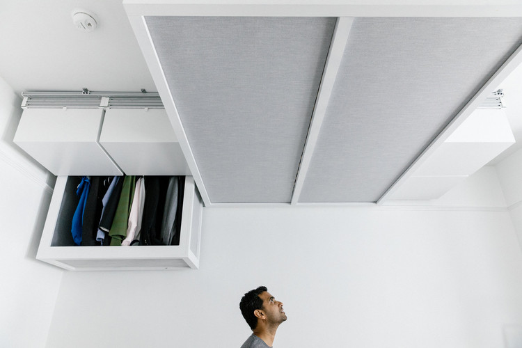 Robotics Start-up Proposes Smart, Motorized Ceiling Furniture, © Jason Henry for The New York Times