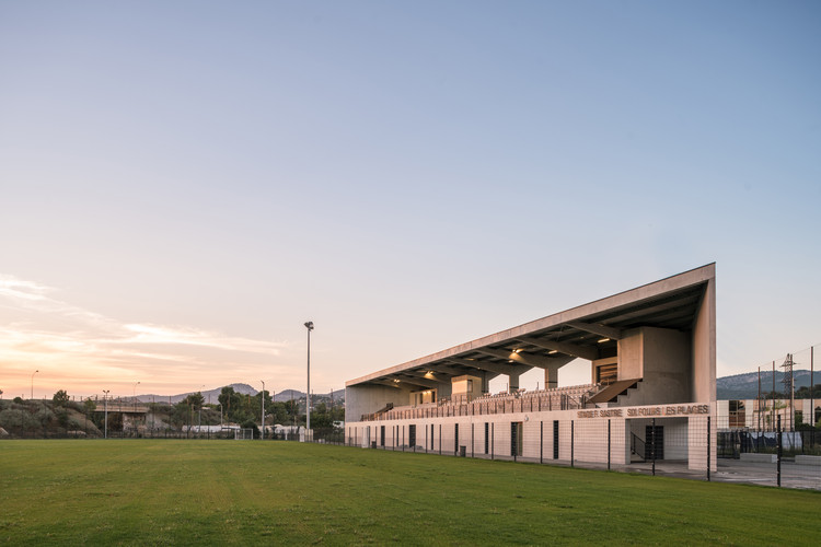 Stadium Sastre / Baito Architectes, © WE ARE CONTENTS Stephane Aboudaram