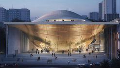 Zaha Hadid Architects Reinterprets Sound Waves for the Sverdlovsk Philharmonic Concert Hall