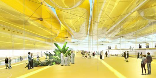 Spanish Pavilion. Image Courtesy of Selgascano & FRPO