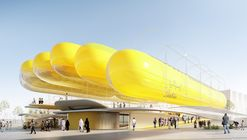 Selgascano + FRPO Design Inflatable Canopy for Spain's EXPO 2020 National Pavilion